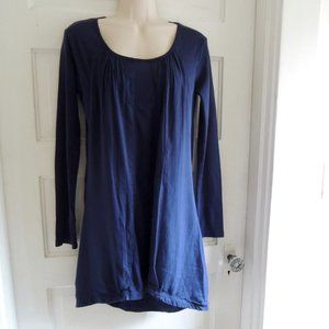 Prairie Underground Navy Hall of Mirrors Tunic XS